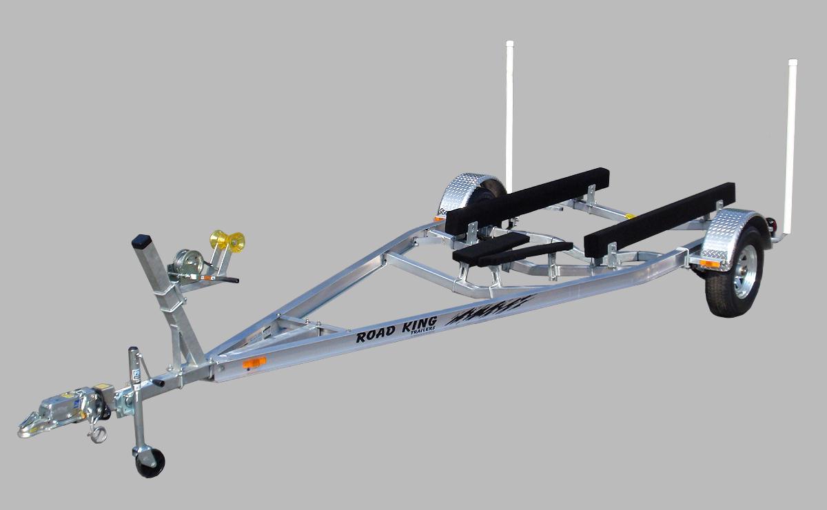 aluminum boat bottom trailer v